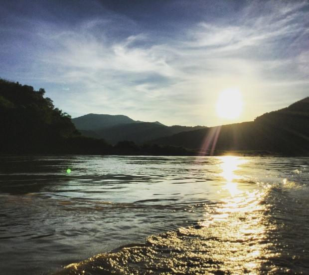 Mekong sunsets