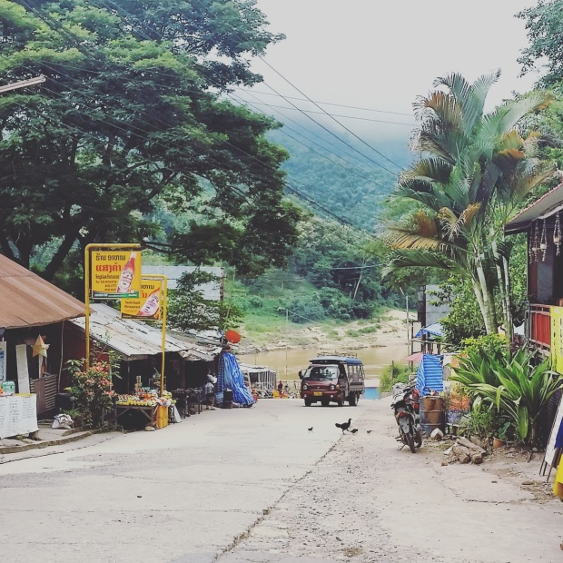 Pakbeng village